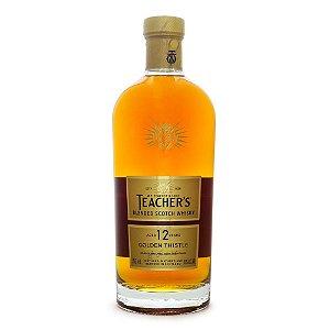 Whisky Teachers 12 Anos Golden Thistle 750Ml