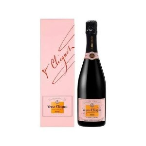 Champagne Veuve Clicquot Rosé Com Cartucho 750 ml