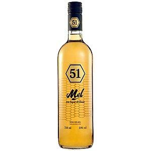 Cachaça 51 Mel Com Toque de Limão 740Ml
