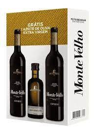 Kit 2 Vinhos Esporão Monte Velho 750Ml + 1 Azeite de Oliva Extra Virgem 250Ml