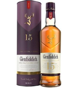 Whisky Glenfiddich 15 Anos Single Malte 750ml