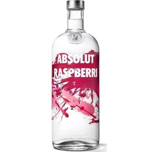 ABSOLUT VODKA RASPBERRI 1000 ml