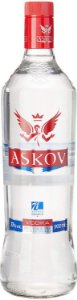Vodka Askov 900ml - Kit com 3 unidades.