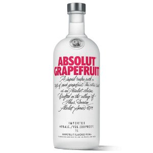 Vodka Absolut Grapefruit 1Litro