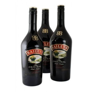 Licor Baileys Irish Cream 750 ml - Kit com 3 (três) Unidades