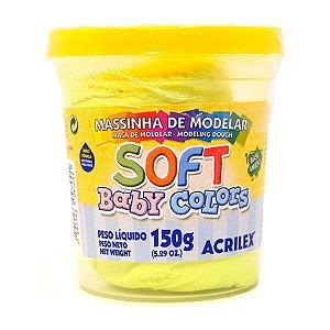 MASSA DE MODELAR BABY SOFT 150G - Acrilex