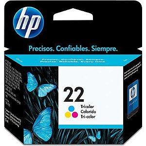 CARTUCHO DE TINTA HP 22 COLORIDO ORIGINAL