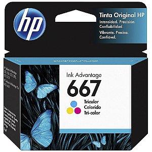 CARTUCHO DE TINTA HP COLORIDO 667