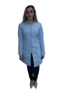 Jaleco Topásio feminino nas cores Azul ou Branco