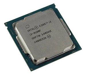 PROC. INTEL 1151  I3 9100F 3,60 GHZ