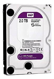 HD SATA 2TB  WESTER DIGITAL PURPLE
