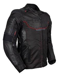 Jaqueta Motociclista Couro Texx Falcon V2 Impermeavel