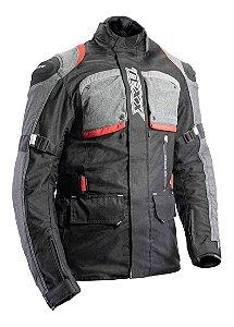 Jaqueta Texx Air Bag Armor Vermelha Impermeável
