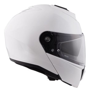 Capacete Hjc I90 Solid Articulado Viseira Solar Branco