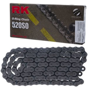Corrente Rk 520sox110l Oring Emenda Rebite On Road/off Road