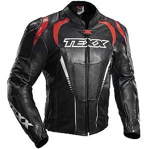 Jaqueta Motociclista Couro Texx Sniper C/ Cupim Lançamento