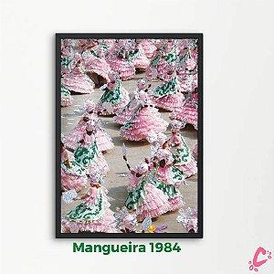Quadros da Mangueira - Coleção Verde e Rosa - Tamanho A3