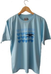 Camiseta - Corações