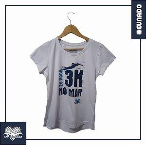 Baby Look - Eu Nado 3K No Mar