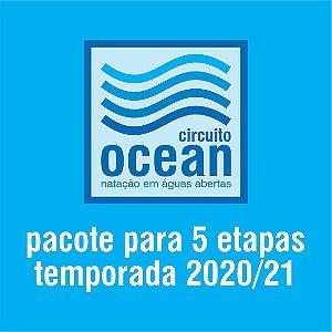 Circuito Ocean - Pacote 5 etapas 2021