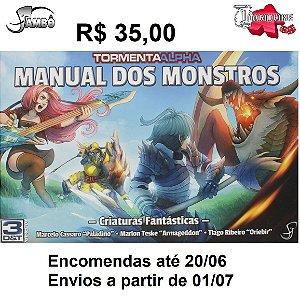 Livro RPG 3D&T Manual dos Monstros - Criaturas Fantásticas Jambo editora Brochura