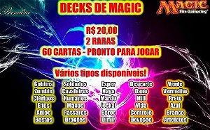 Decks de Magic Pré Montados