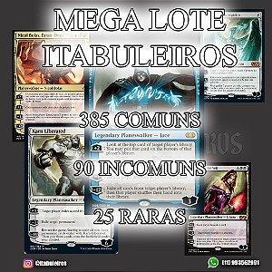 Lote de 500 cartas de Magic (23 raras e 2 miticas)