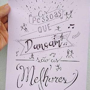 Quadro As pessoas que dançam