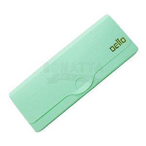 Estojo Multiuso Dello Linho Serena Verde Pastel 8800vp