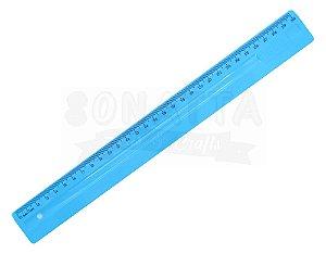 Régua de 30cm Dello Serena Azul Pastel - 3112bp
