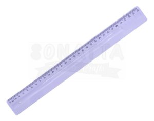 Régua de 30cm Dello Serena Lilás Pastel - 3112lp