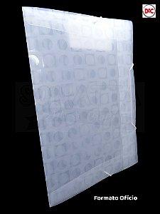 Pasta Ofício Sem Lombo Decorada DAC Vision Transparente 301TR