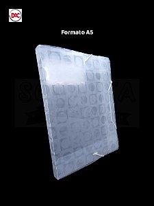 Pasta 1/2 Ofício Lombo 2cm Decorada DAC Vision Transparente 307TR