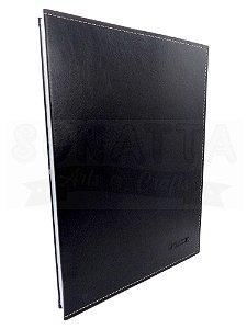 Pasta Catálogo Ofício DAC sem Lombo Classic Preta 6039PR