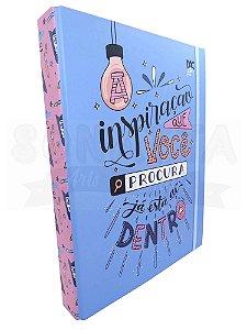 Caderno Argolado Universitário DAC Letter 3109