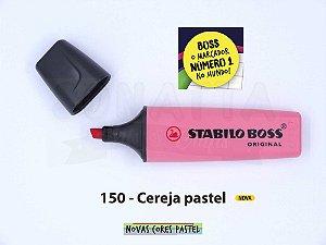 Marcador de Texto STABILO Boss Pastel - Cereja 150