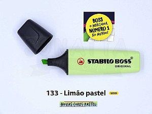 Marcador de Texto STABILO Boss Pastel - Limão 133