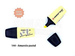 Marcador de Texto STABILO Boss Mini Pastellove - Amarelo Pastel 144