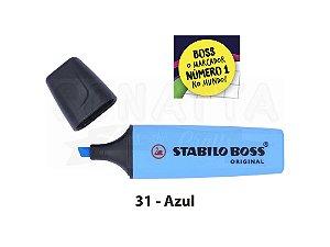 Marcador de Texto STABILO Boss Original - Azul 31
