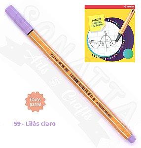 Caneta STABILO Point 88 Pastel - Lilás Claro 59