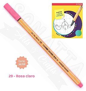 Caneta STABILO Point 88 Pastel - Rosa Claro 29