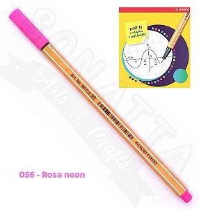 Caneta STABILO Point 88 Neon - Rosa neon 056