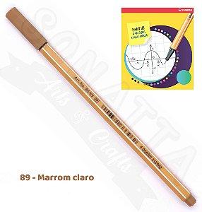 Caneta STABILO Point 88 - Marrom Claro 89