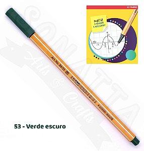 Caneta STABILO Point 88 - Verde Escuro 53