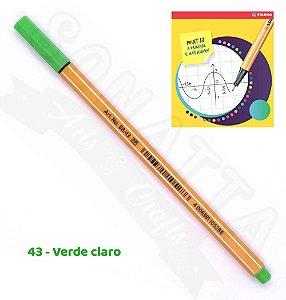 Caneta STABILO Point 88 - Verde Claro 43