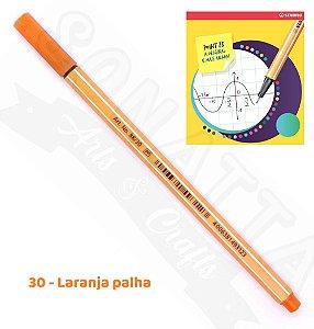 Caneta STABILO Point 88 - Laranja Palha 30