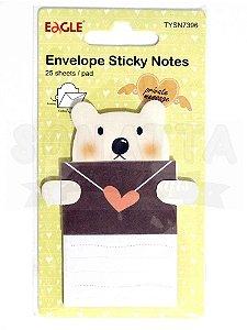Sticky Notes (Bloco Adesivo) Envelope EAGLE Ursinho - TYSN7396