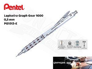 Lapiseira PENTEL GraphGear 0,3mm - PG1013