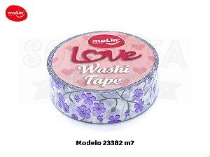 Washi Tape MOLIN Love Avulsa Modelo 7 - 23382