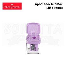 Apontador FABER-CASTELL com Depósito MiniBox - Lilás Pastel